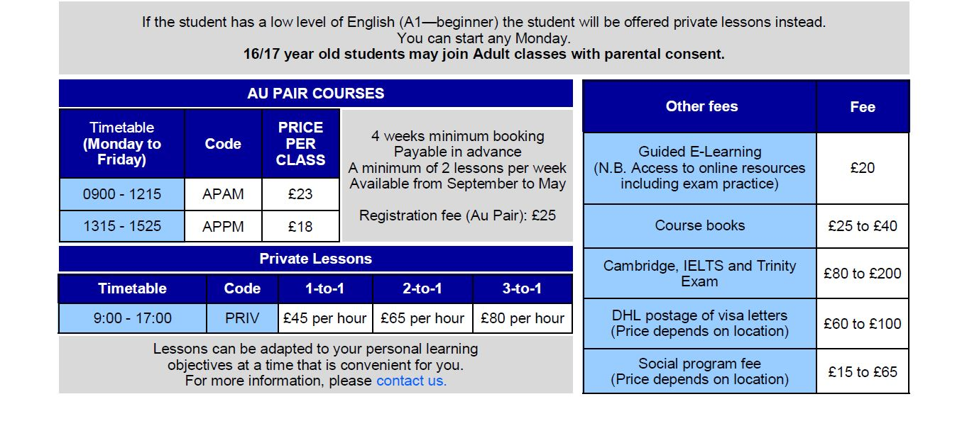 Our course prices