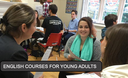 English courses for young adults